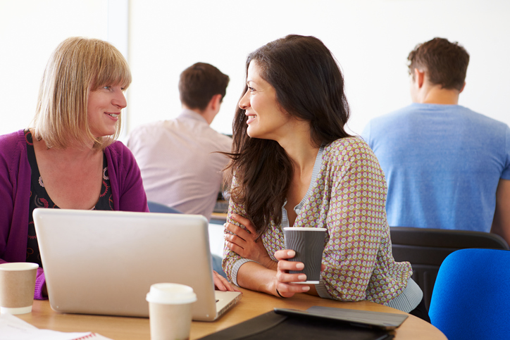 Connecting with classmates for support can help you succeed during your program