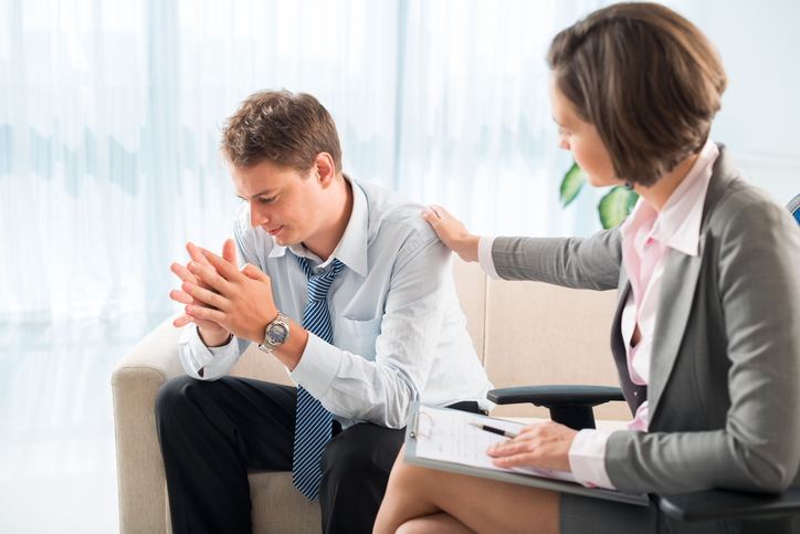 Cognitive behavioural therapy helps improve a client's attitude towards negative life events
