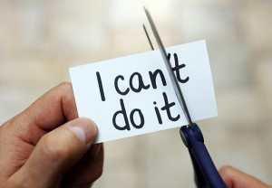 Addressing one's inner critic is an important step to building self-confidence