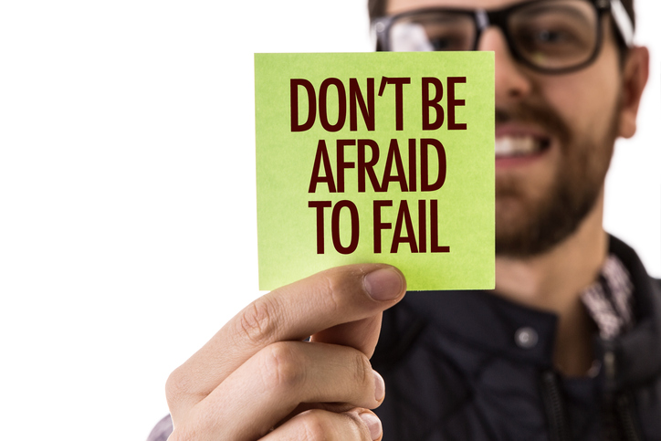 Teaching Clients to Overcome Fear of Failure Once You Become