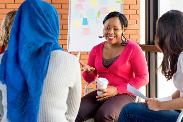 Our wellness college helps students use their own life experiences to help others
